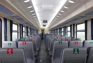 train vide