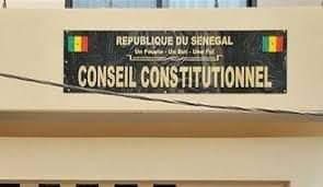 conseil constitutionnel du Sénégal.
