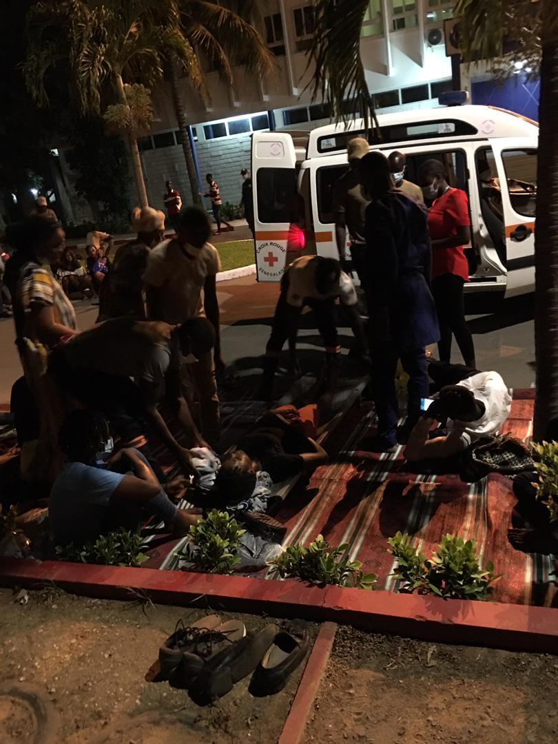Ucad étudiants greve de la faim