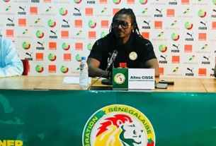 Aliou Cissé coach équipe nationale du Sénégal Lions.