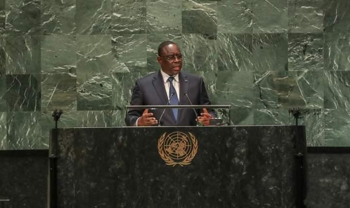 Macky sall à la tribune des nations unies