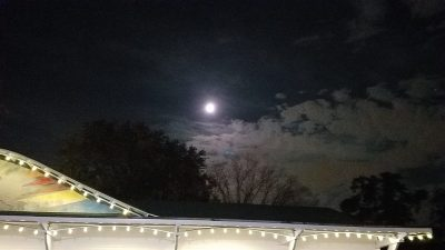 Moonrise over Glen Echo.