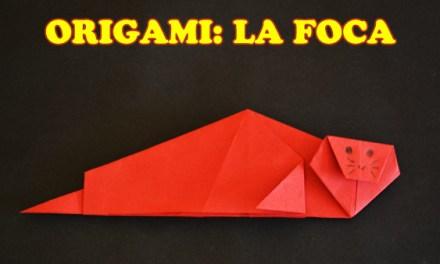 Figuras de Origami de Animales paso a paso La Foca