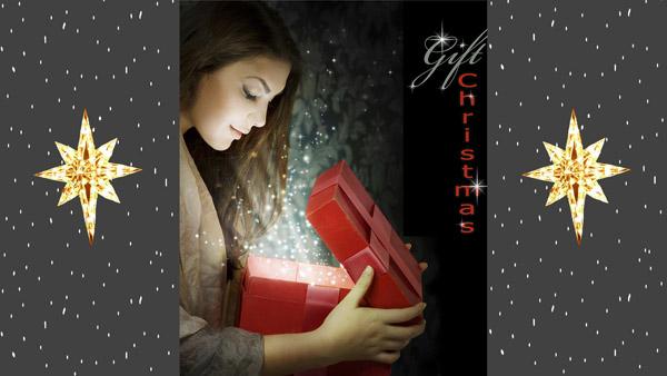 Tarjetas Virtuales de Feliz Navidad Animadas, Postales o Pensamientos de Navidad 24
