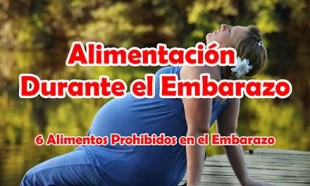 Alimentacion Durante el Embarazo, 6 Alimentos Prohibidos en el Embarazo
