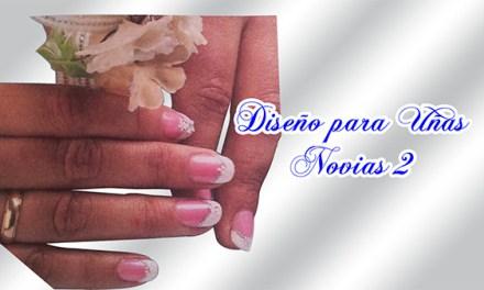 Fotos o Imagenes de Uñas Decoradas, Manicure, Diseño de Uñas para Novias o Matrimonio paso a paso 15