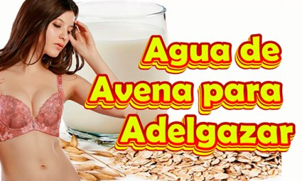 Como Preparar y Tomar Agua de Avena para Bajar de Peso, el Agua de Avena es buena para Adelgazar