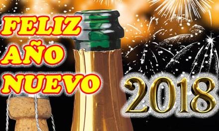Feliz Año Nuevo 2018 con Frases de Felicitacion de Año Nuevo