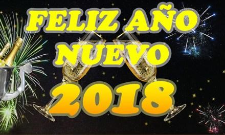 Mensajes de Año Nuevo con Frases de Feliz Año Nuevo 2018