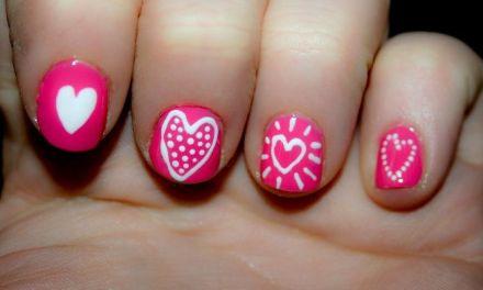 Diseño de Uñas para San Valentin 5