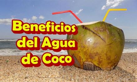Beneficios del Agua de COCO para la salud en Ayunas