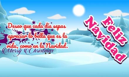 Mensajes de Navidad para Amigos y la Familia cortos y bonitos 2017, Feliz Navidad