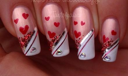 Diseño de Uñas para San Valentin 10