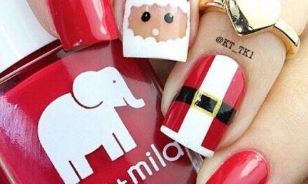 Uñas Decoradas de Navidad 32