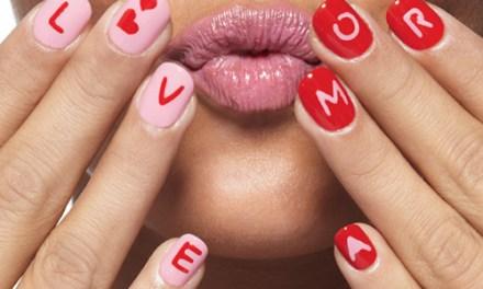 Diseño de Uñas para pies en San Valentin 23