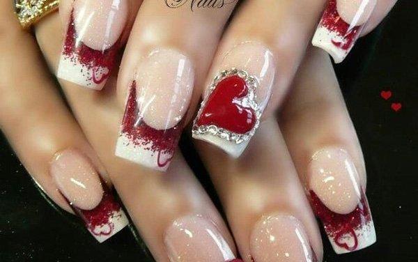 Diseño de Uñas para San Valentin 26