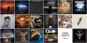 Os Melhores álbuns do Rock Internacional de 2018.