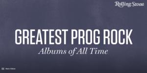 """Os 50 melhores álbuns de Rock Progressivo de todos os tempos, segundo a revista """"Rolling Stone""""."""
