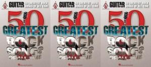 """As 50 melhores canções de Rock de todos os tempos, segundo a revista """"Guitar World""""."""