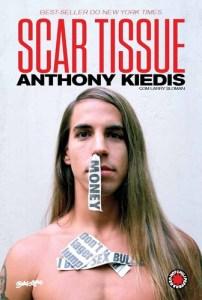 """Livro: """"Scar tissue, as memórias do vocalista do Red Hot Chili Peppers"""""""