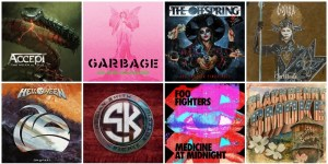 Lista de álbuns – Lançamentos do Rock 2021