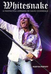 "Livro: ""Whitesnake: A Fantástica Jornada de David Coverdale"""