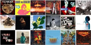 Os Melhores álbuns de Rock e Metal nacional dos anos 2000 e anos 2010.