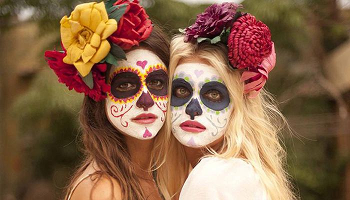 imágenes de maquillaje de Día de Muertos