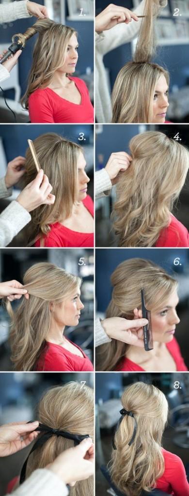 peinados faciles 10