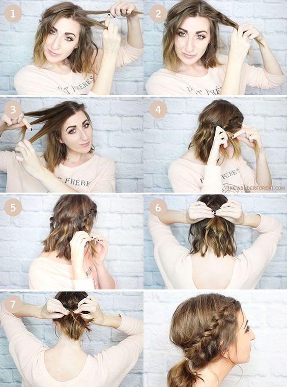peinados faciles 75