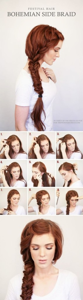 Como Peinar Cabello Largo Facil Peinados Novias