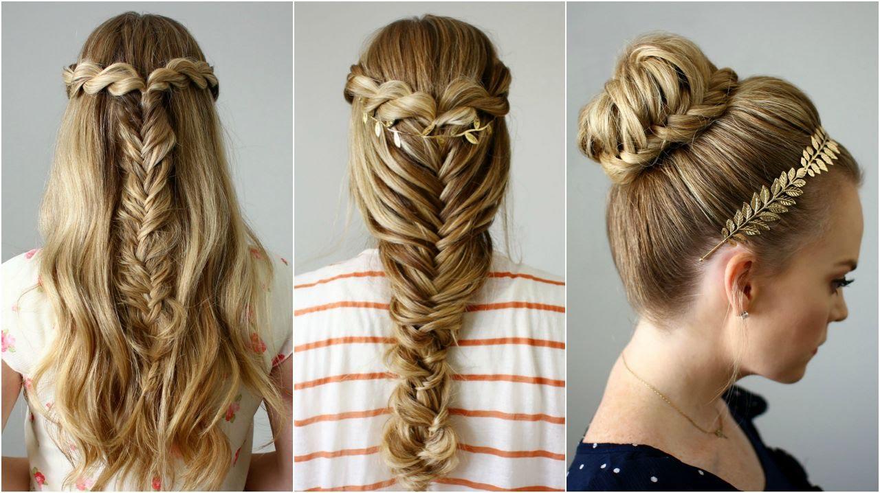 80 peinados sencillos para fiestas pelo corto y largo - Peinados para chicas ...