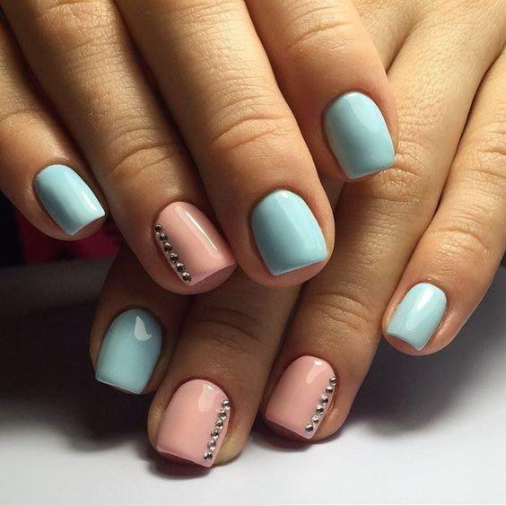 decoración de uñas con piedras 4