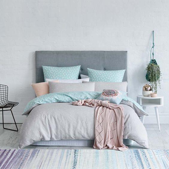 decoración de cuartos en color gris 8