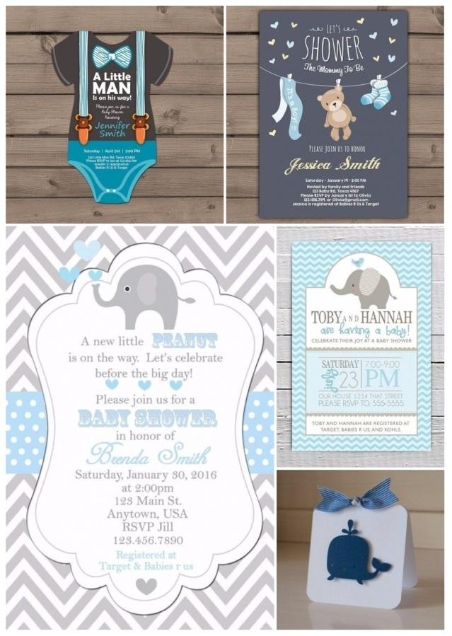 las mejores invitaciones para baby shower