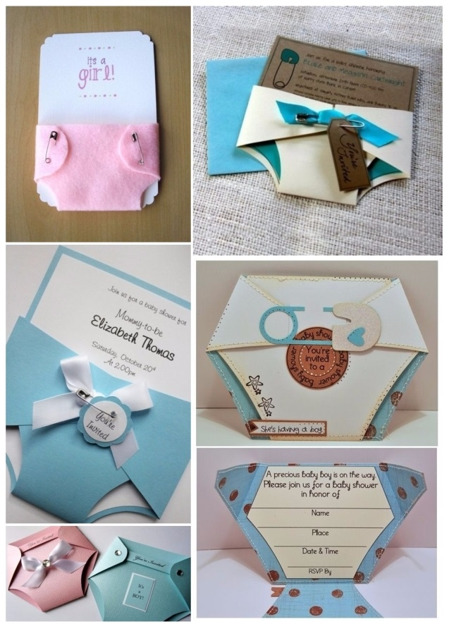 crear invitaciones para baby shower