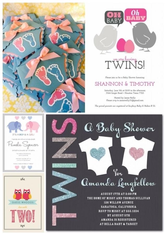 ejemplos de invitaciones para baby shower