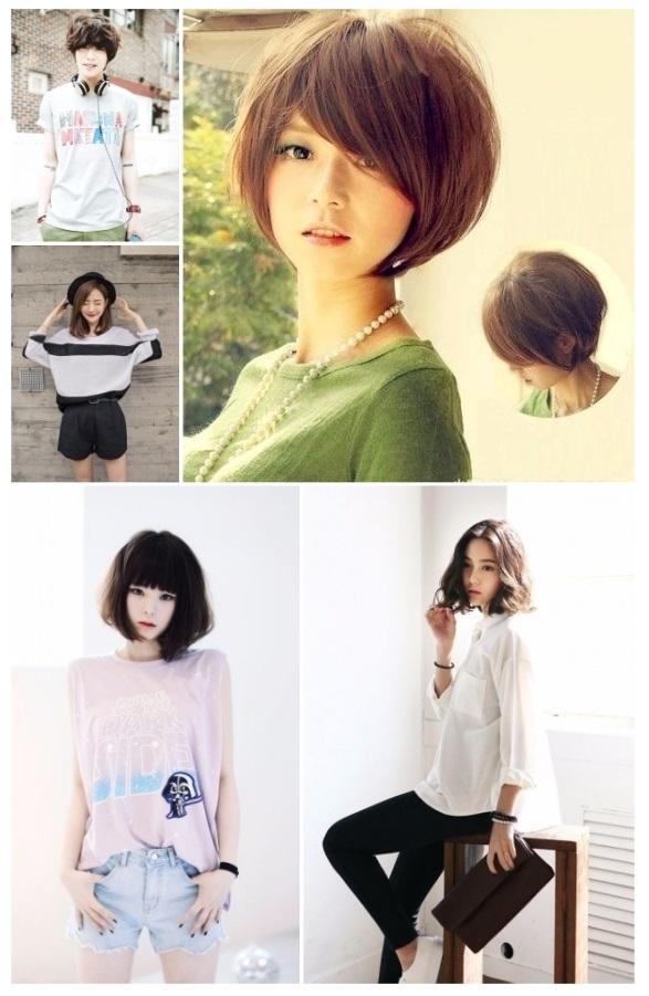 peinados kawaii para cabello corto