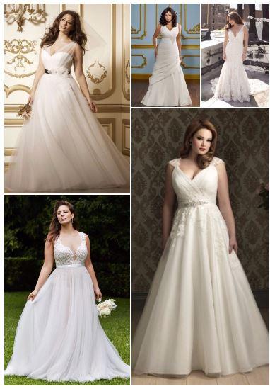 Vestidos de novia para gorditas (MODELOS 2016-2017)