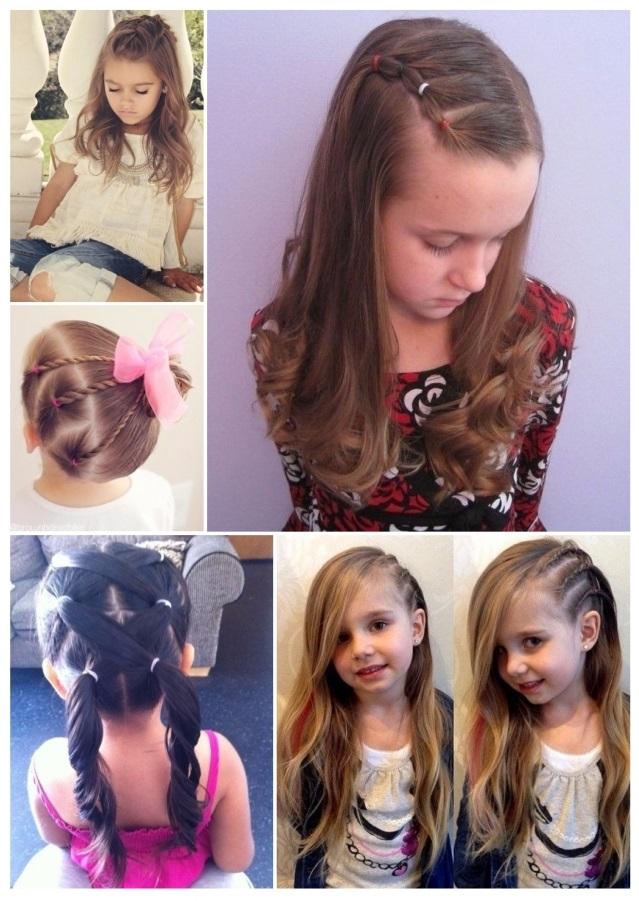 peinados de niña de moda