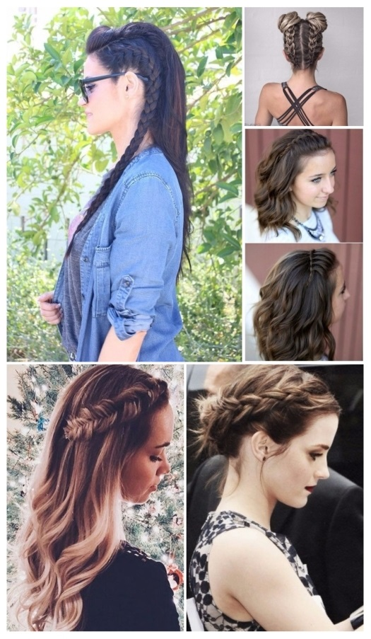 peinados en trenzas de moda