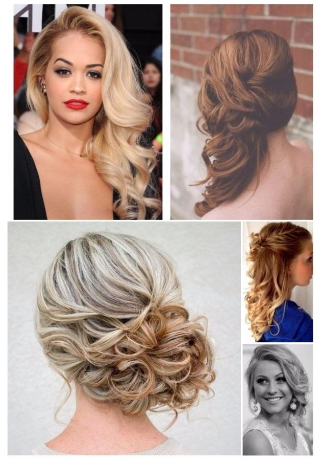Peinados de noche para todas las chicas - Peinados elegantes para una boda ...