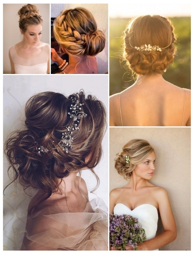 Como hacer un peinado de novia recogido