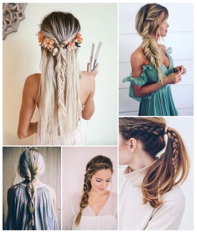 ejemplos de peinados con trenzas