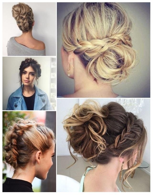 elegantes peinados con trenzas