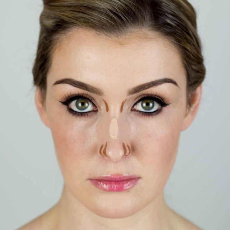 Como maquillar una nariz ancha (100% EFECTIVO)