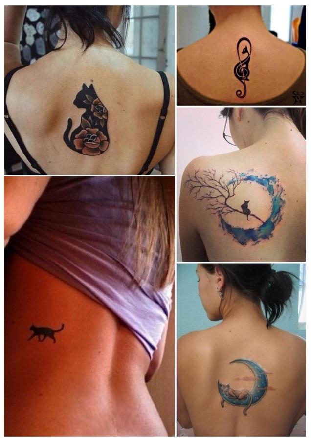 tatuajes de gatos bonitos