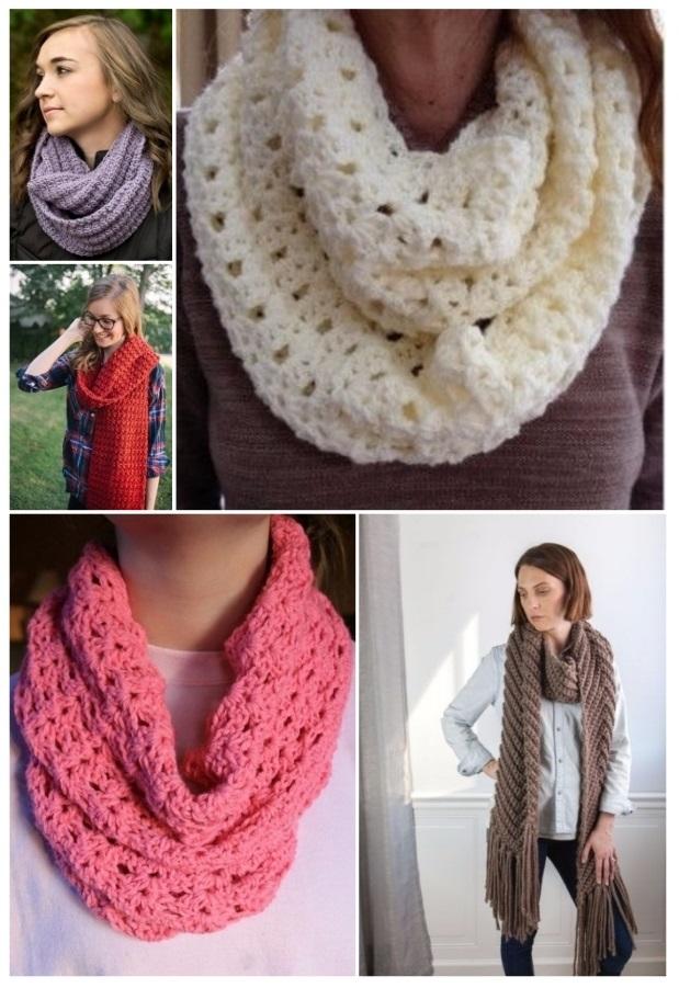 mejor selección da676 a1245 Como tejer una bufanda con los dedos (IDEAS Y TUTORIAL)