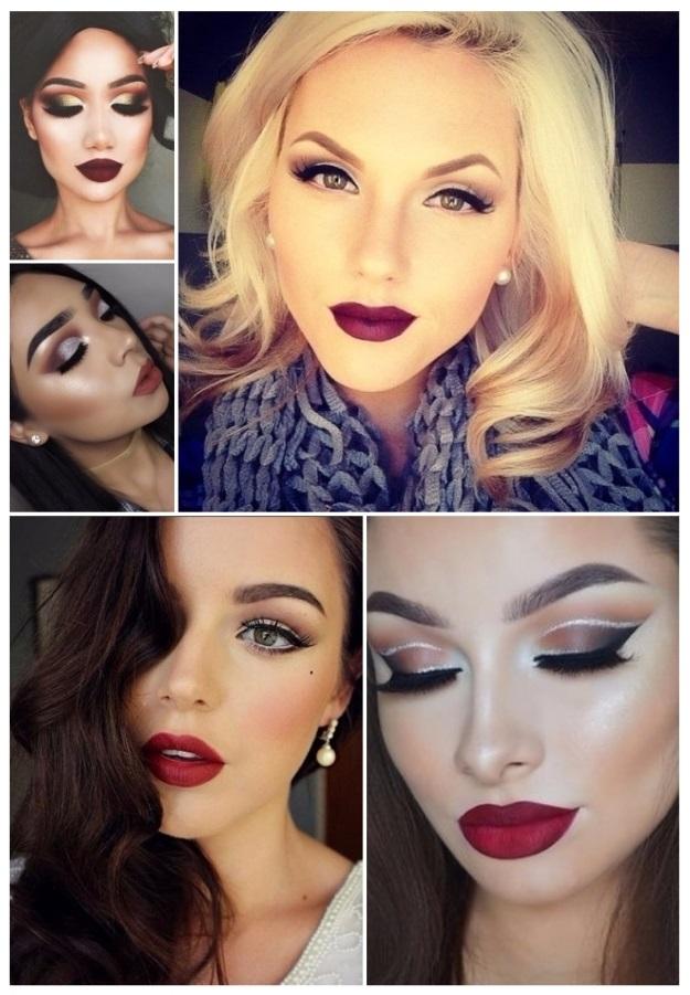 imágenes de maquillaje de Navidad