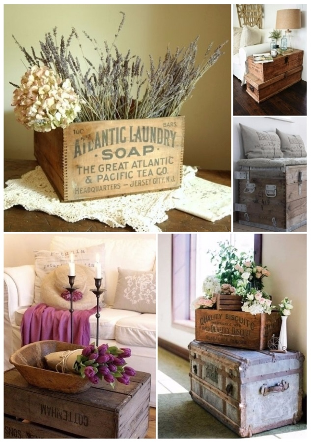 Como decorar tu casa con cajas de madera 30 ideas diy blogs de belleza - Como decorar una casa ...